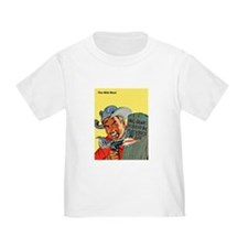 Wild West Matchstick McGee Outlaw T