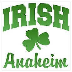 Anaheim Irish Poster