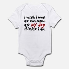 'I Wish I Was As Awesome' Infant Bodysuit