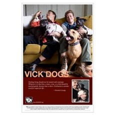 Vick Dogs Poster