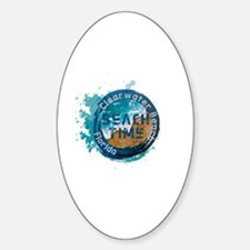 Florida clearwater Sticker (Oval)
