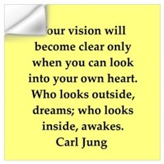 Carl Jung quotes Wall Decal