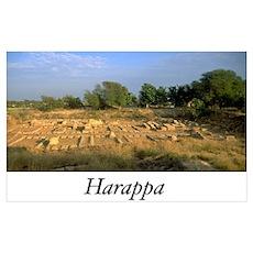 Harappa Granary Poster