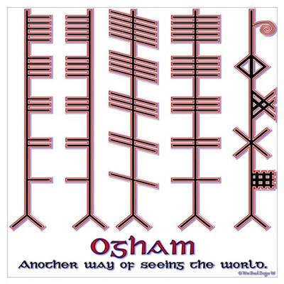 "The Ogham ""alphabet"" Poster"