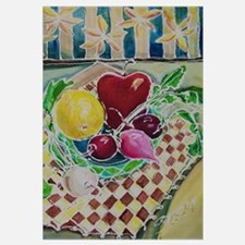 23X35 #2 of KITCHEN Bright Acrylic Painting Series