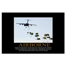 Airborne Motivational Poster