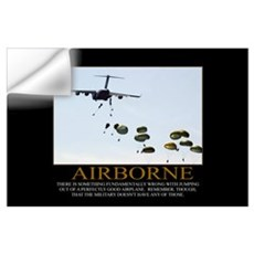 Airborne Motivational Wall Decal