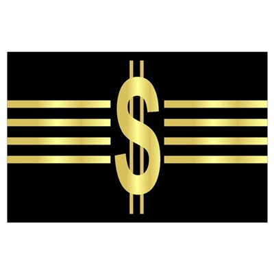 John Galt Dollar Emblem Poster