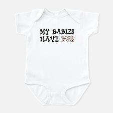 'My Babies Have Fur' Infant Bodysuit