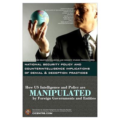 Denial & Deception 23x35 Poster