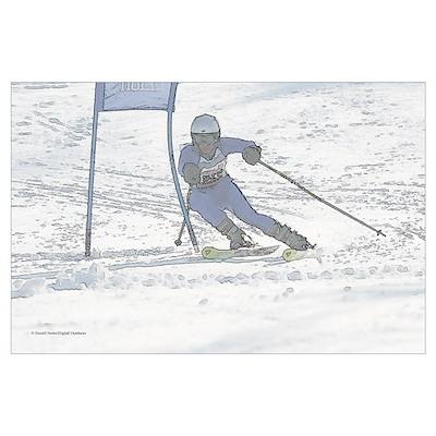 Skier 2846-102 Poster