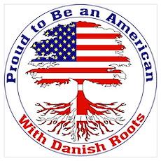 American-Danish Roots Poster