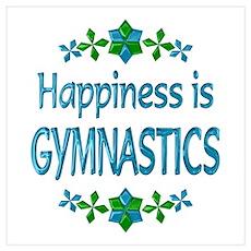 Happiness Gymnastics Poster