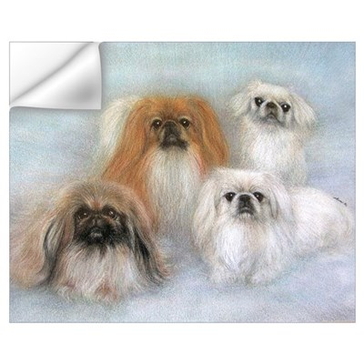PRNI Pekingese Rescue Wall Decal