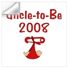Uncle-to-Be 2008 Wall Decal