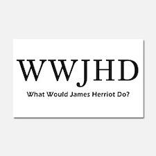 James Herriot Car Magnet 20 x 12