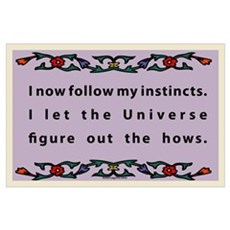 Follow Instincts Poster