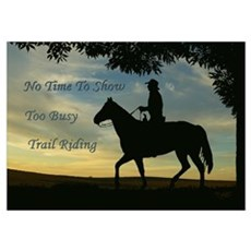 No time to show Poster