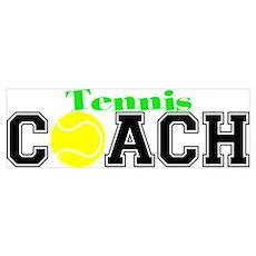 Tennis Coach Poster
