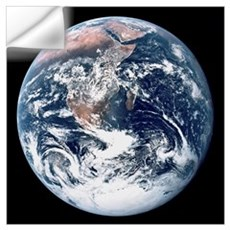 Earth From Moon Wall Decal
