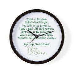 Challenge Wall Clock