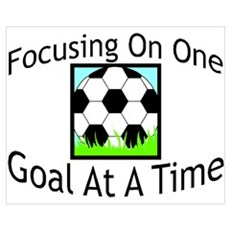 One Goal At A Time Poster