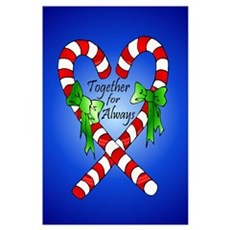 Together for Always Christmas Poster