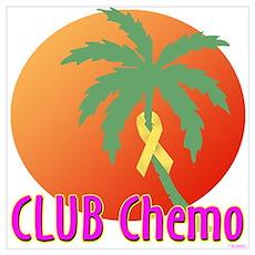 Club Chemo Liver/Bladder Poster
