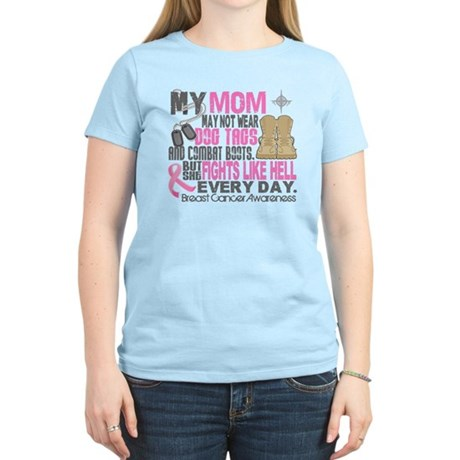 Dog Tags Breast Cancer Women's Light T-Shirt
