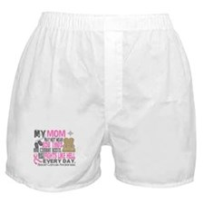 Dog Tags Breast Cancer Boxer Shorts