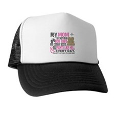 Dog Tags Breast Cancer Trucker Hat