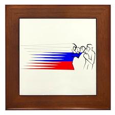 Boxing - Russia Framed Tile