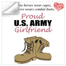 Proud US Army Girlfriend Wall Decal