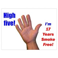 High Five I'm 17 Years Smoke Poster