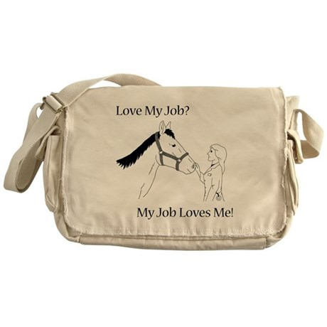 Equine Veterinarian (female) Messenger Bag