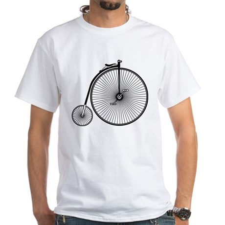 High Wheeler White T-Shirt