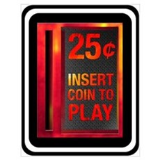 INSERT COIN TO PLAY Poster
