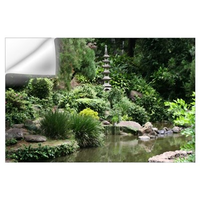 Japanese Garden Wall Decal