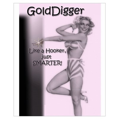 GoldDigger Framed Print