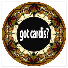 got cardis?-Blue Merle Poster