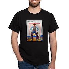 Wild West Dude Gunslinger Cowboy T-Shirt