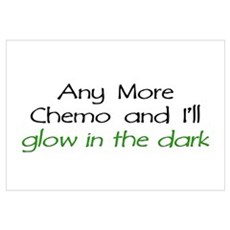 Chemo - Glow in the Dark Canvas Art