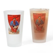 Wild West Red Bandana Outlaw Drinking Glass