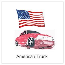 American Truck Poster