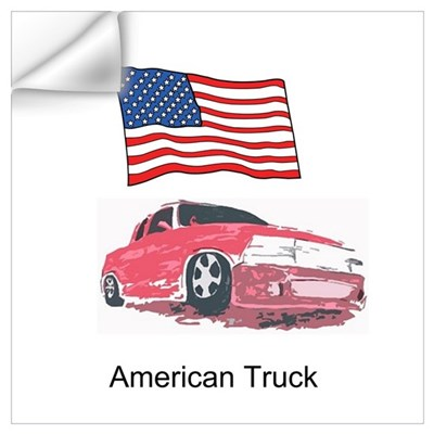 American Truck Wall Decal