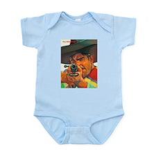 Wild West Stick Your Hands Up Infant Bodysuit