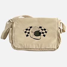 Helmet & Flags Messenger Bag