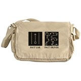 Car racing Messenger Bag