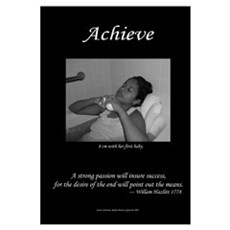 Achieve Series Framed Print