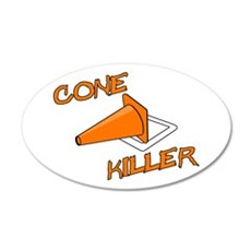 Cone Killer Wall Decal